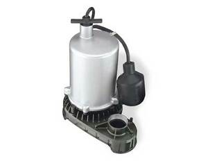 Flotec 1 2 Hp Zinc Body Submersible H o Sump Pump tethered Switch fpzt7300