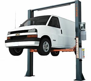 2 Post Commercial Grade Overhead 11000lbs Electrical Release Car Lift Auto Hoist