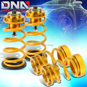 For 06 11 Civic 1 4 Adjustable Suspension Coilover Sleeve Kit W gold Spring