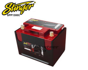 Stinger Spp1300c 12 volt Dry Cell Battery 3000w 1500a Fits Group 75 86