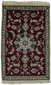Thick Pile Kashmar Nain 3x5 Traditional Persian Area Rug Oriental Home Decor Car