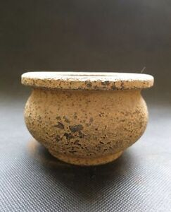 Chinese Antique Warring States Period Unearthed Jade Stone Incense Burner 763g