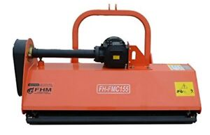 53 Centered Heavy Duty Flail Row Mower With Hammer Blades 3 Point Fh fmc135