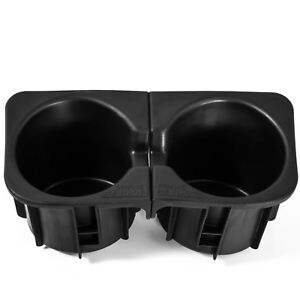Cup Holder Insert Fits 05 17 Toyota Tacoma Black Center Console Right Left