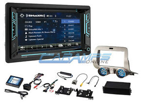 New Soundstream Stereo W Bluetooth Xm Radio Usb aux W Install Kit For Camaro