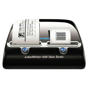 Dymo Labelwriter 450 Twin Turbo Printer 71 Labels Per Minute 1752266 New