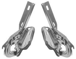 1965 66 Mustang Coupe convertible Trunk Lid Hinges Pair New Dii