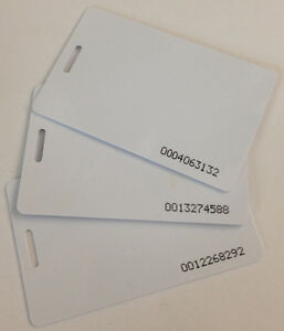 25 Compumatic Rfid Proximity Badge Cards All Xls 21 And Cfr 20 20 Time Clocks