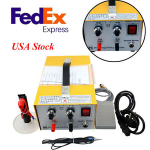 Pulse Sparkle Spot Welder 200w Jewelry Welding Machine Gold Silver Platinum New