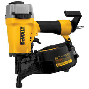 Dewalt 15 Degree 2 1 2 In Coil Siding Nailer Dw66c 1r Reconditioned