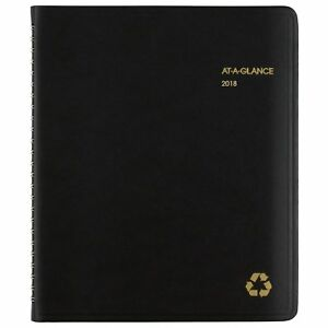 At a glance 70951g0513 Recycled Weekly monthly Classic Appointment Book 6 7 8 X