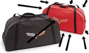 2005 2013 Chevrolet Corvette Red Outdoor Car Cover Storage Bag By Gm 19158353