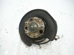1991 Acura Legend L 4dr A t Passenger Right Rear Hub Spindle Oem 1992 1993 1994