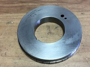New Hardinge No Hv 4n 5c Collet Indexer Plate 34 Pin
