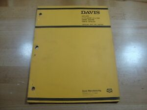 Davis Case Leyland 1 8 4 Cyl Diesel Engine Parts Catalog Manual 5 77