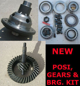 9 Ford Trac lock Posi 31 Gear Bearing Kit Package 4 63 Ratio 9 Inch New