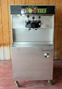 Electro Freeze 30tcab Soft Serve Ice Cream Machine 2 Flavor Twi