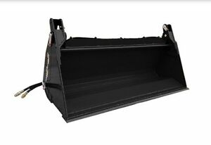 4 In 1 Skid Steer Quick Attach Material Bucket 72 Terra Force