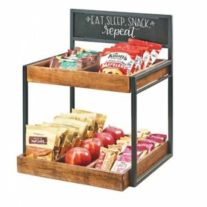 Cal mil 2 Step Condiment Holder With Chalkboard