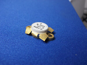 M9851 947 m C 9664 0 Rf Transistor Rare Gold Vintage Collectible Last One