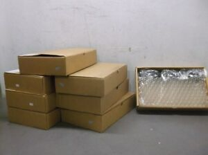 8 Boxes 144 Box Of Kimble Glass 60940d 4 Vials W rubber Lined Lid