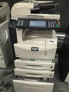 Kyocera Mita 3050 Multifunction Printer copier scanner fax With Doc Feed Used