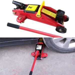 2 Ton Mini Portable Floor Jack Vehicle Car Garage Auto Small Hydraulic Lift Tool