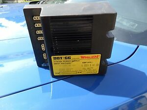 Whelen Dot 66 Strobe Power Supply Tested Working Great Deal