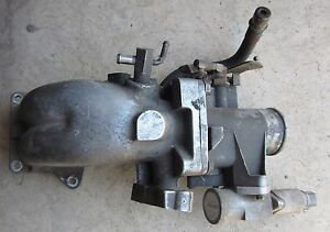 1985 Ford Thunderbird Turbo Coupe Upper Intake Throttle Body 85 86 2 3l Svo