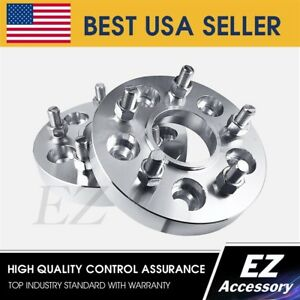 Wheel Adapters 5x127 5x5 Jeep Wrangler Grand Cherokee Hub Centric Spacers 1 25