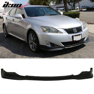 For 06 08 Lexus Is Is250 Is350 Type F Front Lip Splitter