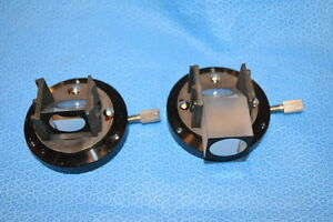 Pair Of Microscope Prisms For Leica Wild Surgical Microscope Head