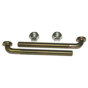 Fuel Tank Strap J bolt nut Set 68 76 Mopar a b e 4 pieces