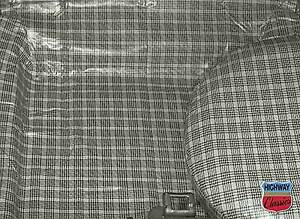 Trunk Mat Rubber Plaid Color 1965 66 Mustang Coupe Convertible
