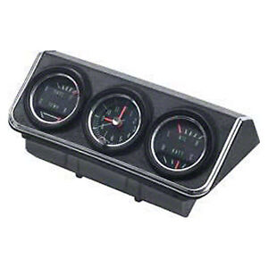 Console Gauge Assembly 67 Camaro complete All Gauges Housing