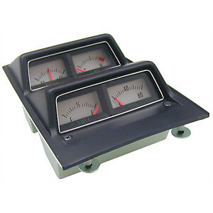Console Gauge Assembly 68 69 Camaro With Low Fuel Warning