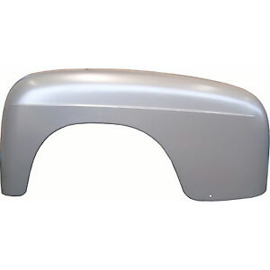 Step Fender Assembly Rear Lh Painted Silver 51 52 Ford Pick Up