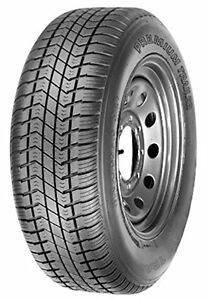 Power King Premium Trailer Bias Tire St205 75d14