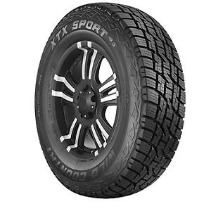 235 75r16 108t Wild Country Xtx Sport 4s Tires Owl