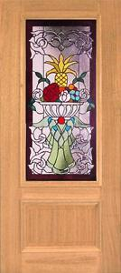 Beautiful Stained Glass Custom Entry Or Interior Door Jhl160
