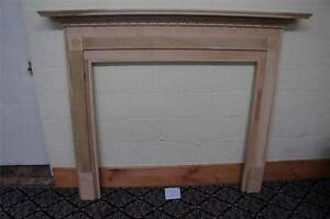 Wooden European Style Carved New Fireplace Mantel S1