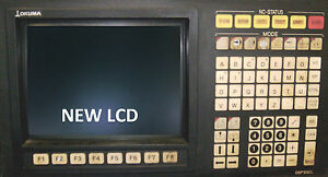 Lcd Monitor Upgrade For 14 inch Okuma Osp 5020l With Cable Kit