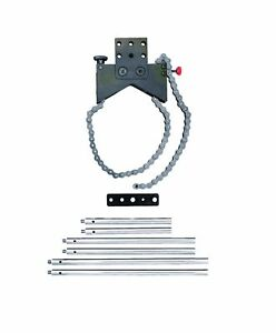 Starrett S668a Shaft Alignment Clamp Set Without Case Chain Clamp Plate Posts