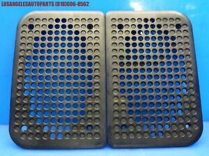 Original Porsche 944 951 Turbo N a S2 924s Door Speaker Grille Cover Trim Pair