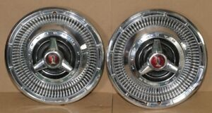 1966 Plymouth Spinner Mopar Hub Caps Wheel Covers 14