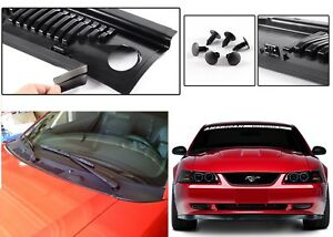 Improved 2 Piece Design Windshield Wiper Cowl For 1999 2004 Ford Mustang New Usa