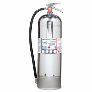Kidde Proplus 2 5 W H2o Fire Extinguisher 2 5gal 20 86lb 2 a 466403 New