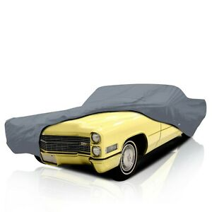 4 Layer Waterproof Car Cover Cadillac Fleetwood 2 dr 1971 1972 1973 1976