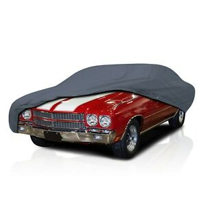csc 4 Layer Full Car Cover For Chevy Chevelle 2 door 1968 1969 1970 1971 1972
