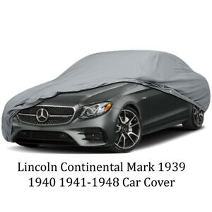 Lincoln Continetal Mark 1939 1940 1941 1948 Car Cover